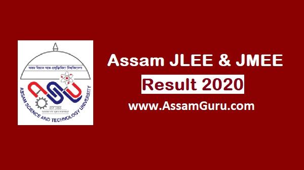 Assam JLEE and JMEE Result 2020