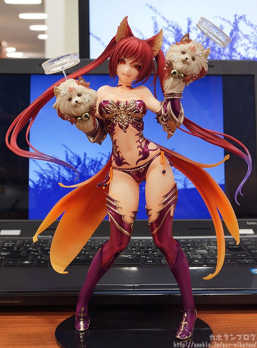 News: Max Factory - 1/7th Scale Cerberus previewed by Kahotan