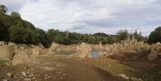 Pozo Ostión casi seco, La Arboleda, Trapagaran, Bizkaia