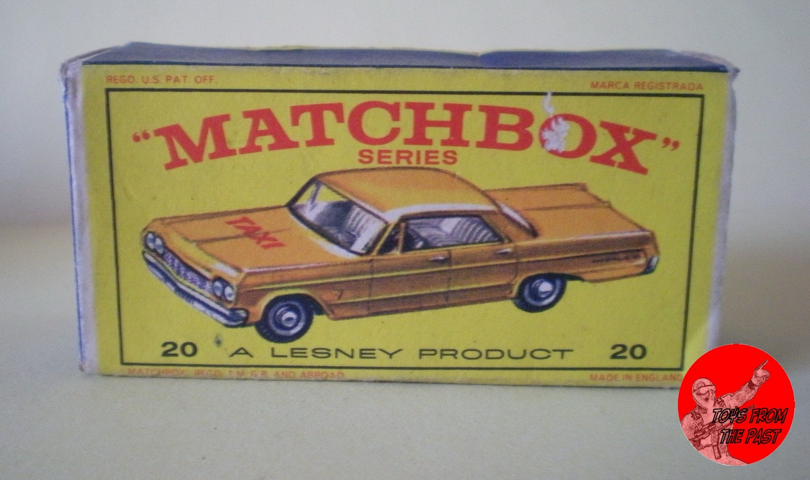 Toys From The Past 199 Matchbox Chevrolet Impala Taxi
