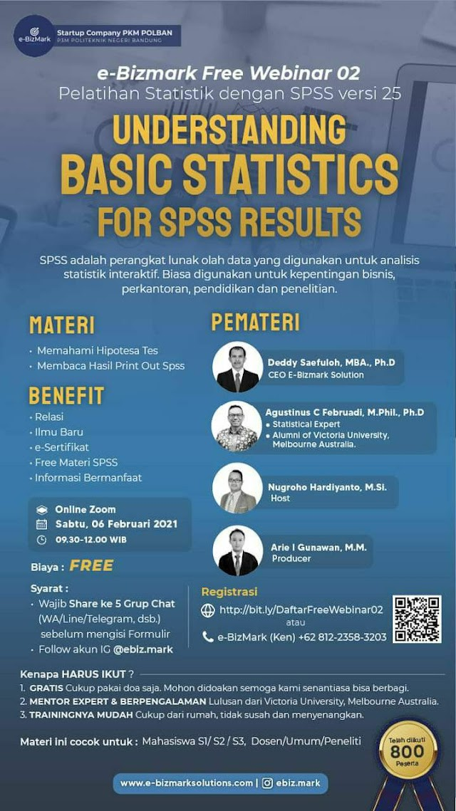 Understanding Basic Statistic for SPSS Results