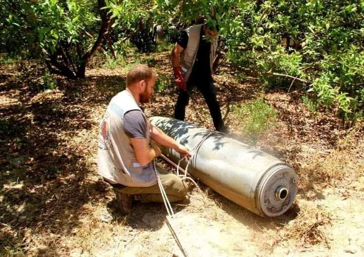 Polisi Gaza amankan hampir 300 bom Israel yang gagal meledak