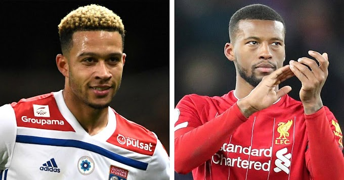 Barcelona weighing the possibility of signing both Depay and Wijnaldum 'for less than €50/55m' — Fabrizio Romano