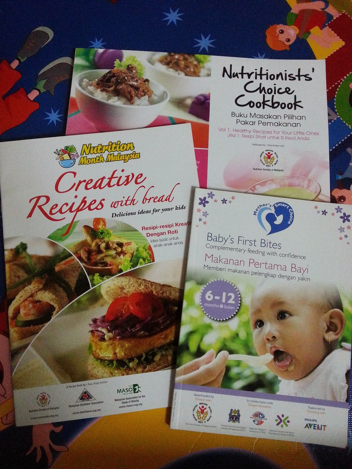 Buku Resepi Makanan Bayi — TTCT