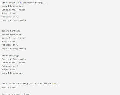 bsearch function program in c programming language