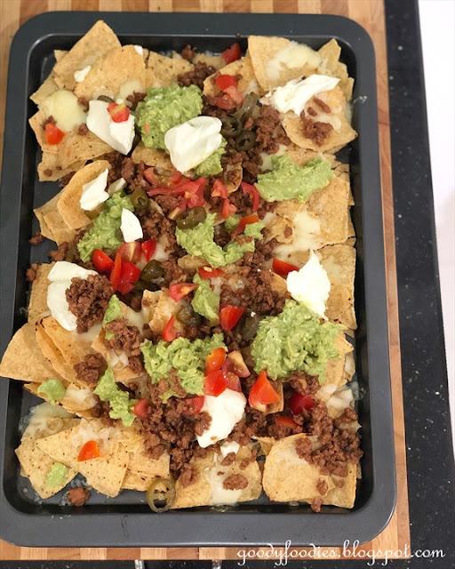 Asian style nachos recipe