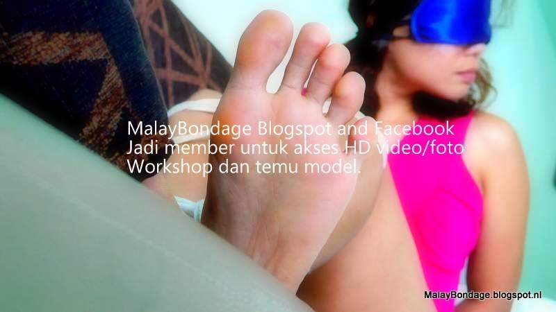 Perempuan topeng diikat video MalayBondage