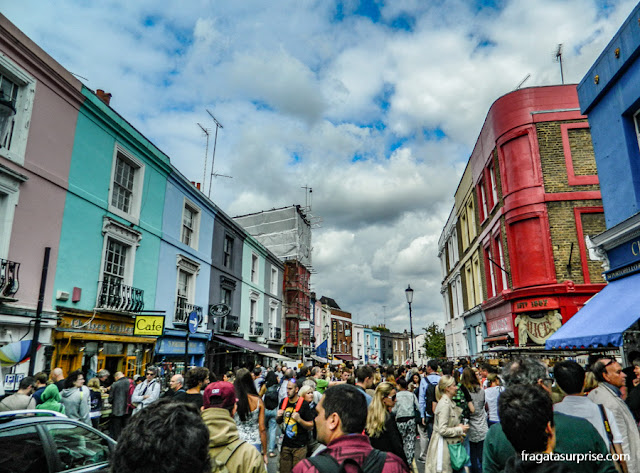 Mercado de Portobello Road, Notting Hill, Londres