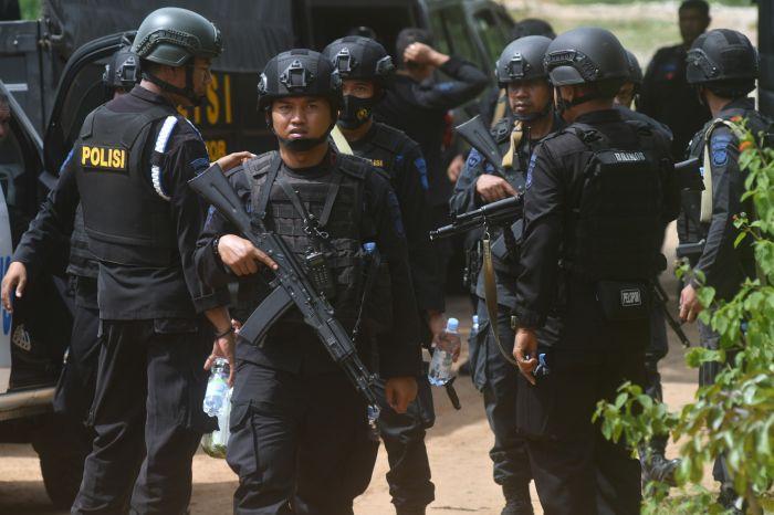 Densus 88 Tangkap Terduga Teroris dari Jamaah Islamiyah di Bogor