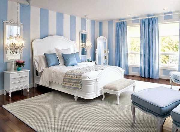 Sky Blue Bedroom Design And Ideas