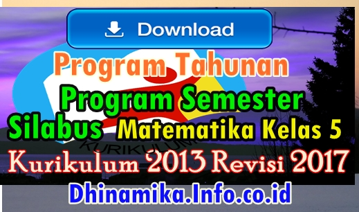 Download Program Semester Sd Kelas 5 Rpp Dan Silabus Matematika Kelas 3 Sd Semester 2