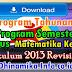Silabus, Prota dan Promes Matematika Kelas 5 Kurikulum 2013 Revisi 2017 DHINAMIKA INFO