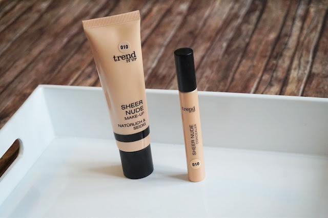 Sheer Nude Make-up in 010, Sheer Nude Concealer
