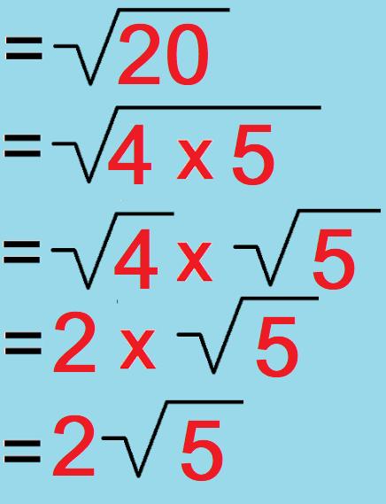 Cara Menghitung Akar Kuadrat Secara Manual