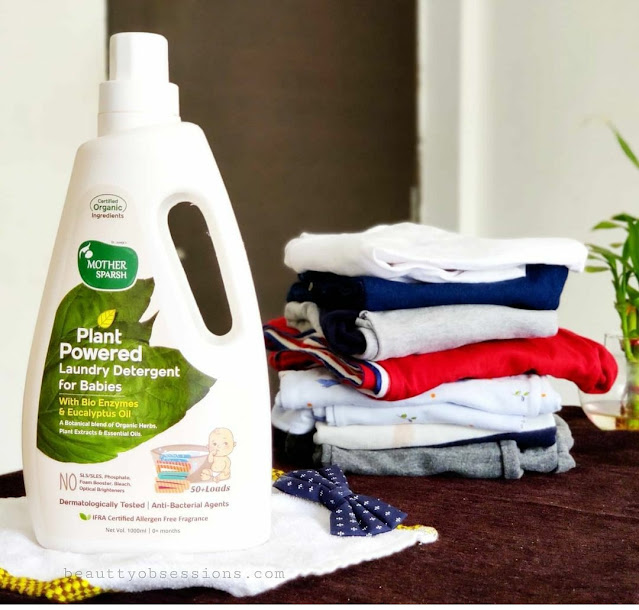 Mother Sparsh Plant Powered Laundry Detergent for babies