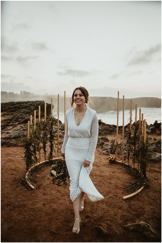 Editorial nupcial Love Sea & Rocks - Blog Mi Boda