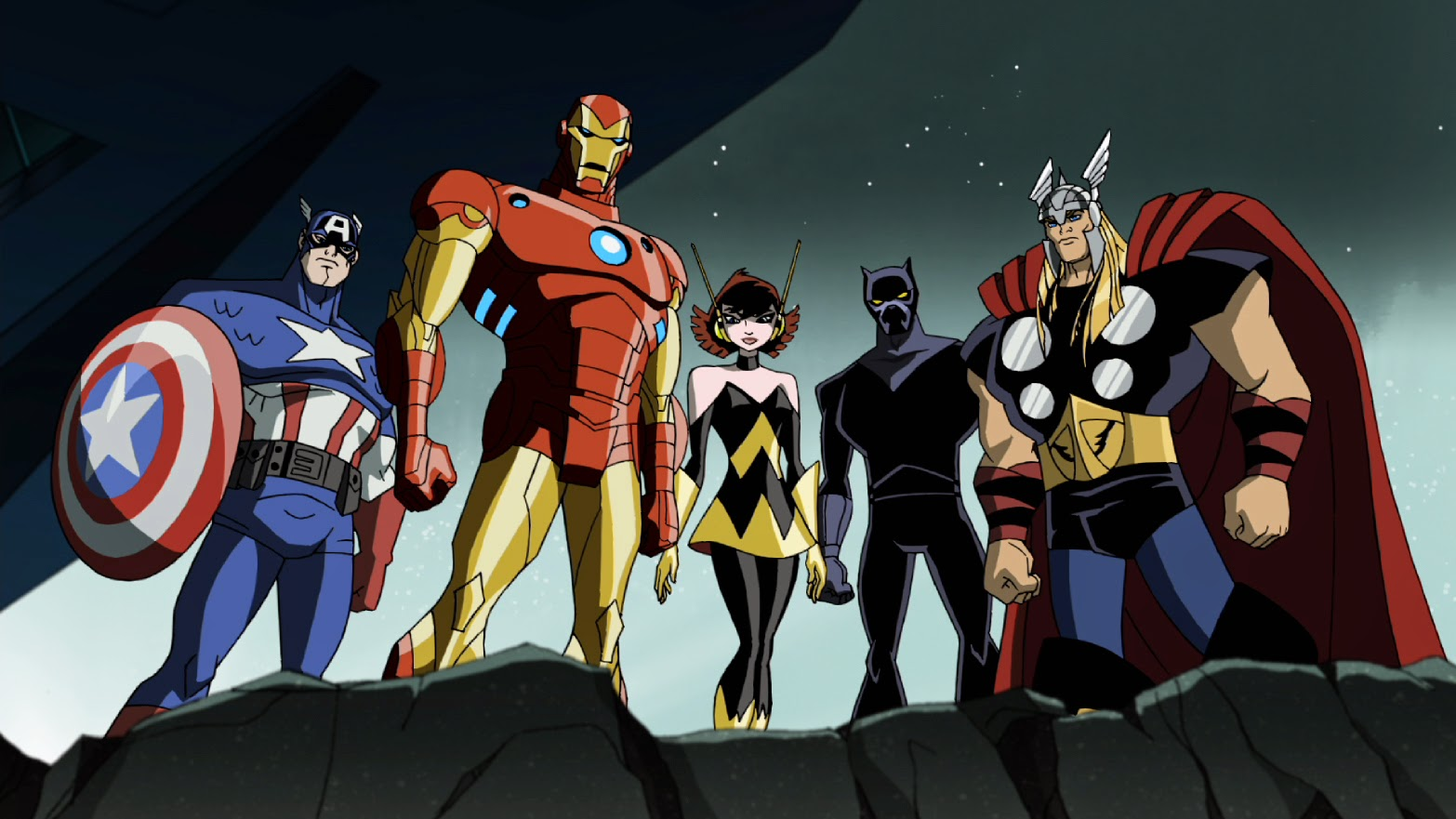 The Avengers: Earth's Mightiest Heroes - Film Animation ...