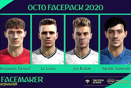 PES 2013 Octo Facepack 2020