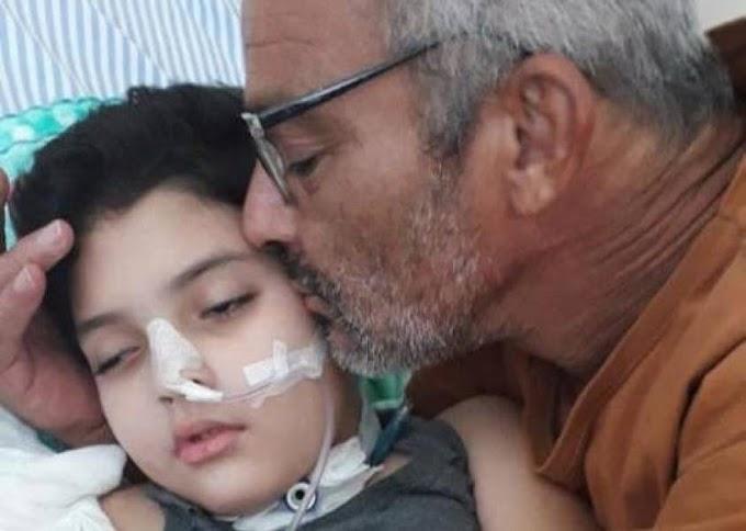 Câncer volta ainda mais agressivo e funileiro vilhenense precisa novamente de ajuda para tratamento da filha de 11 anos