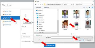 Choose File Pilih Photo