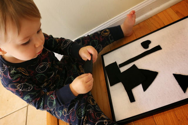 contrasting colors activity for toddlers