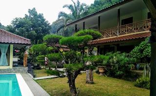 villa bogor sukabumi kren bagus luas dekat rafting/arung jeram