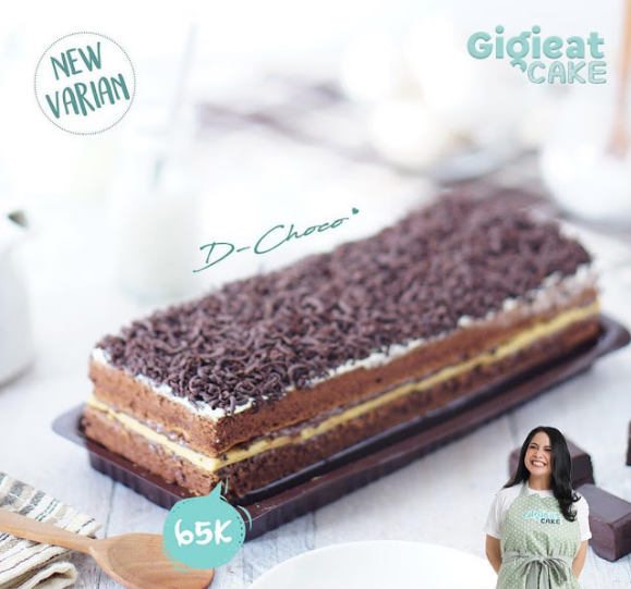 Daftar Harga dan Alamat Toko Gigieat Cake