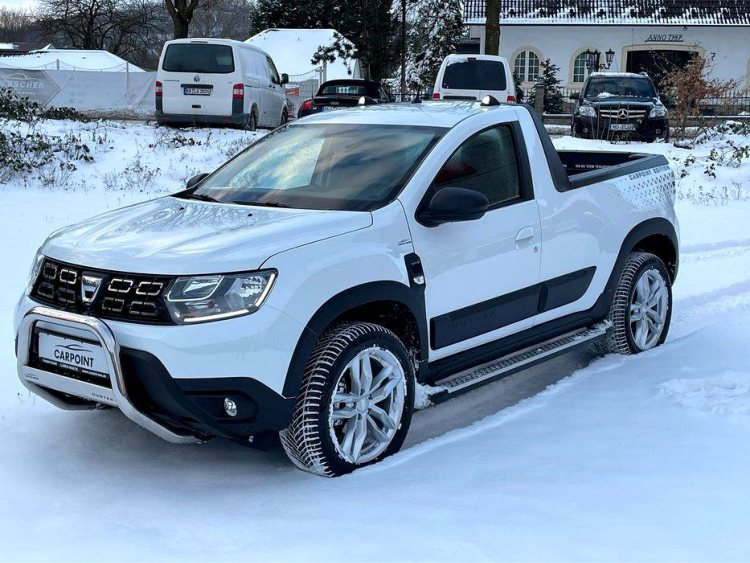 Un model deosebit de Duster - Dacia Duster Pick-up Carpoint Edition