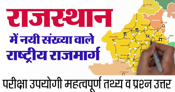 National Highways in Rajasthan