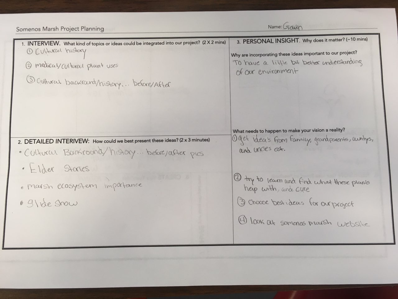 CSS Land Based Learning: Using Design Thinking to Plan Our