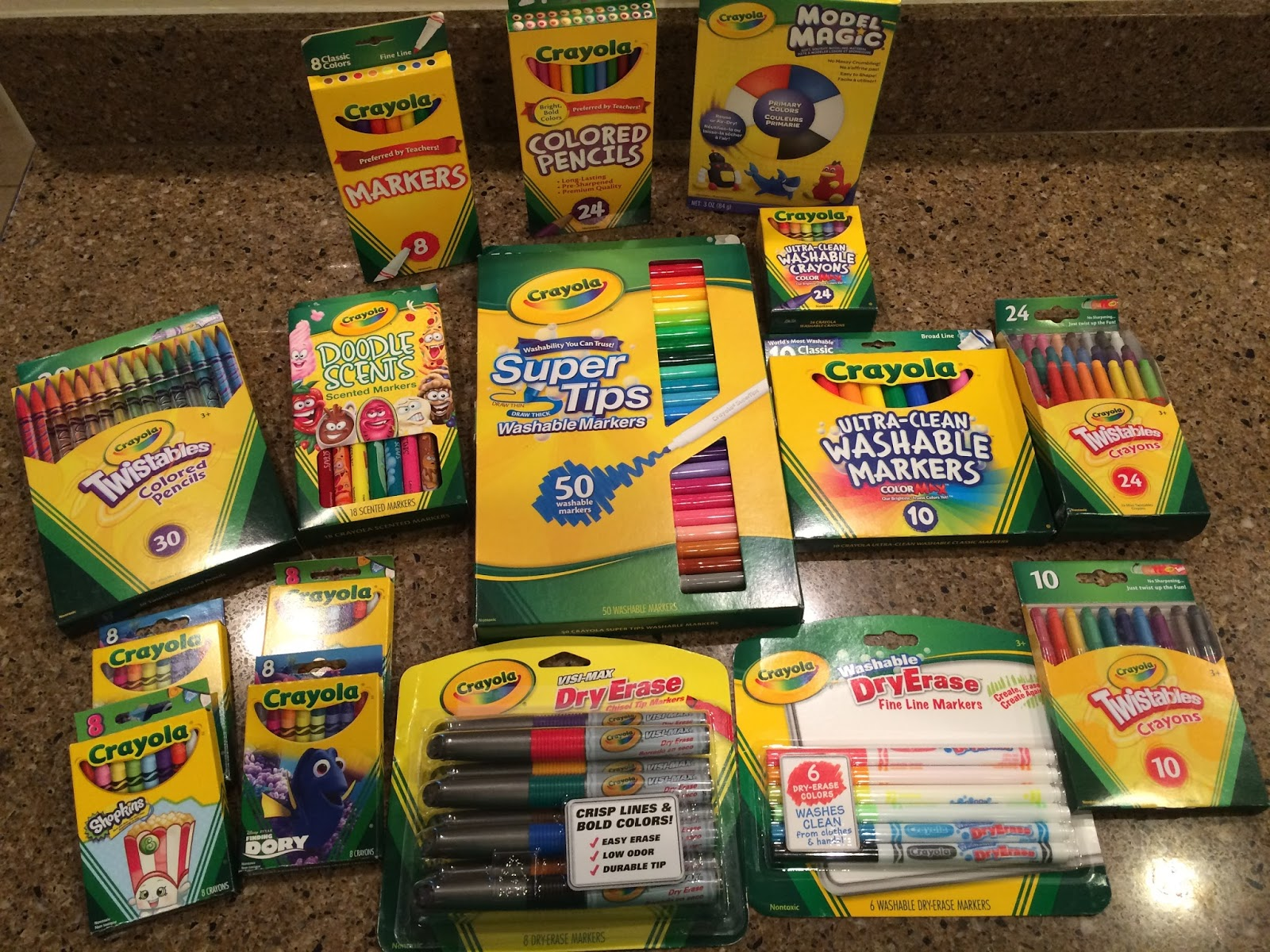 Living a Fit and Full Life: Shop Crayola for Fun Back to ...