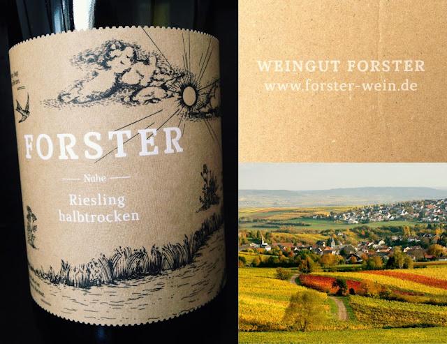 Riesling aus dem Weingut Forster an der Nahe