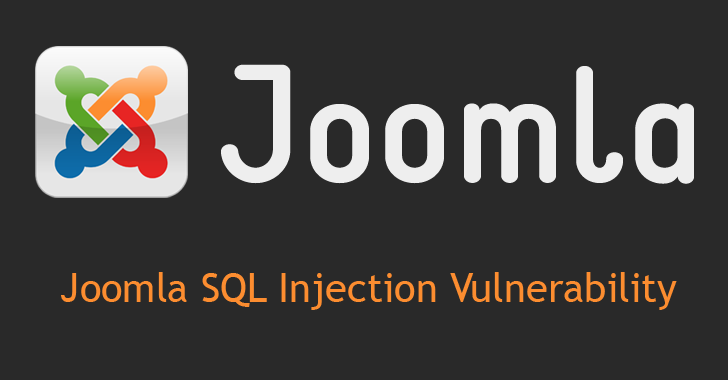 Joomla 3.4.5 patches Critical SQL Injection Vulnerability
