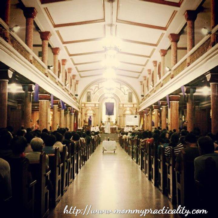Holy Week Special Our Visita Iglesia Route In Quezon City Mommy