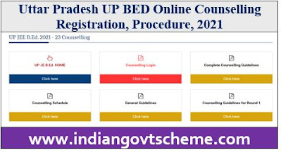 UP BED Online Counselling Registration