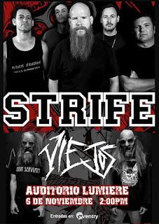 STRIFE + Los Viejos en Concierto 2017