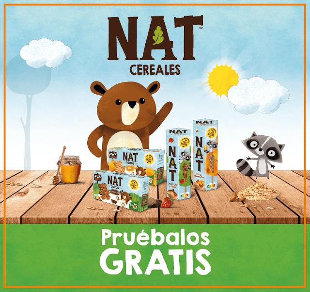 Prueba gratis los cereales y los ositos NAT de Nestlé