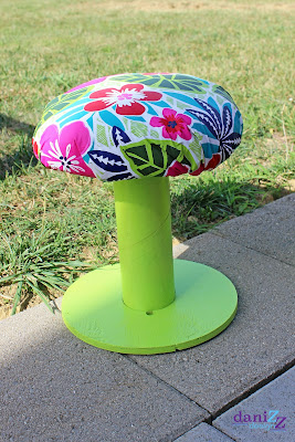 DIY Children's Stools, Children's Spool Stools, children's stools, children's stool, spool crafts, spool stool, outside stool, kid stool, kid spool stool, kid seat, children's seat, toddler seat, toddler stool, DIY stool, DIY spool stool, DIY patio furniture, DIY kid seat, DIY children's seat, tablecloth crafts, outdoor craft, classroom chair, classroom seat, classroom kid seat, cute stools, cute children stool. cheap children seat, cheap kid seat, cheap stool, reading stool for kid, toddler chair, DIY kid chair, DIY children chair, spool craft, spool furniture, revamp wood spool, wooden spool stool, wooden spool chair, wooden spool project