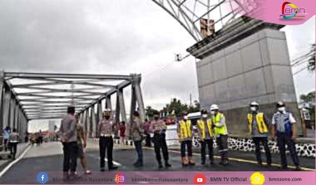 Jembatan Rembun Perbatasan Pemalang-Pekalongan Kembali Beroperasi