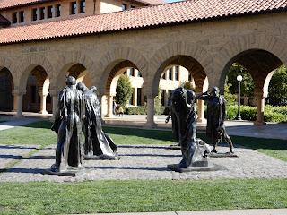 スタンフォード大学のロダンの彫刻