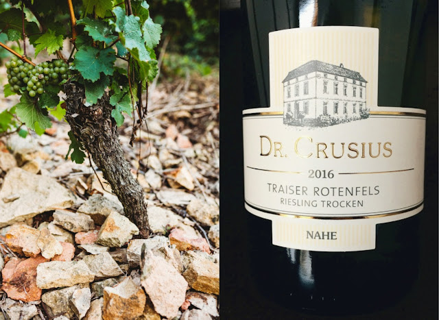 Rotenfels Riesling vom Weingut Dr. Crusius