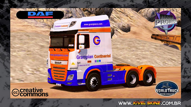 DAF XF - CONTINENTAL LOGISTIC