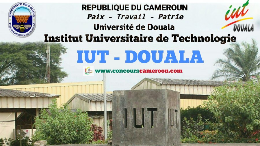 Résultat de IUT de Douala 2020/2021