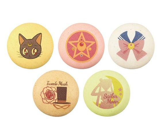 Ciasteczka anime - makaroniki Sailor Moon