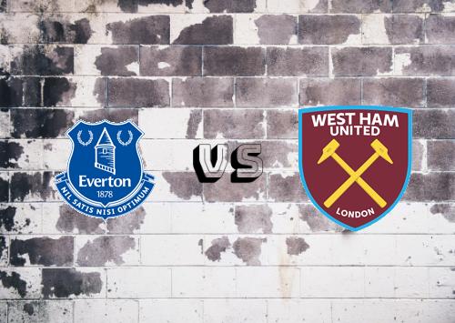 Everton vs West Ham United  Resumen y Partido Completo