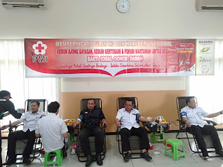 Management PTPN X dan FWLM Peringati Hari Pers, Gelar Donor Darah Bersama