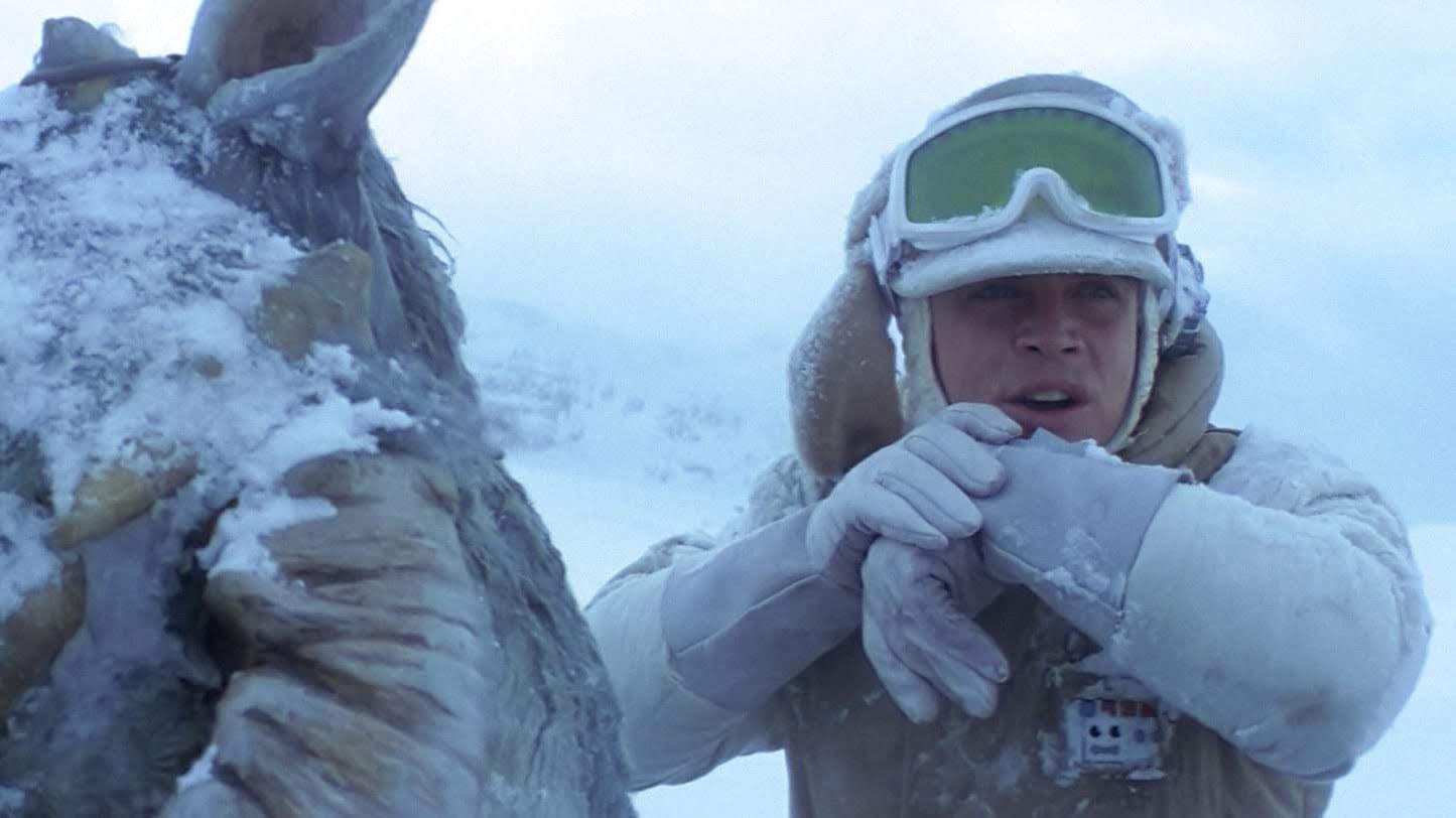 The Wampa Strikes Back :「スター・ウォーズ」のオリジナル・トリロジー第2弾「帝国の逆襲」のもうひとつのあっけない結末というパロディのビデオ ! !