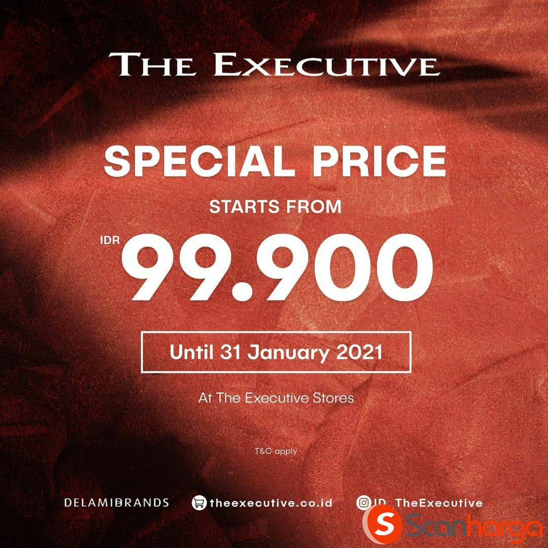 Promo The Executive Special Price Start From IDR 99.000