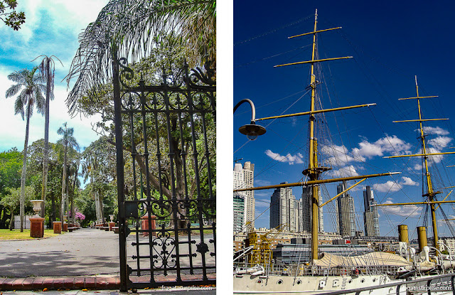 Buenos Aires: parque Lezama e Puerto Madero