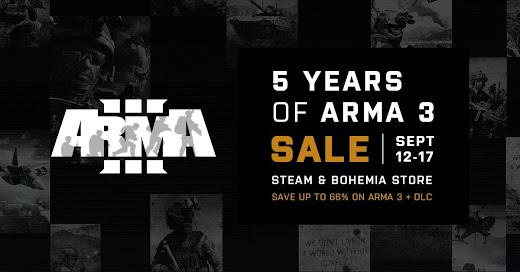 Arma3が5周年で記念セール